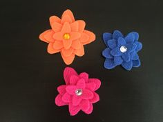 A personal favorite from my Etsy shop https://www.etsy.com/listing/255758957/small-fleece-flower-accessory-small
