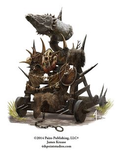 Orc Siege Engine by JamesJKrause.deviantart.com on @DeviantArt