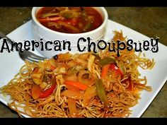 American Chopsuey (Indo Chinese Cuisine) Veg Recipe Video by Chawlas-Kitchen.com episode #224 - YouTube