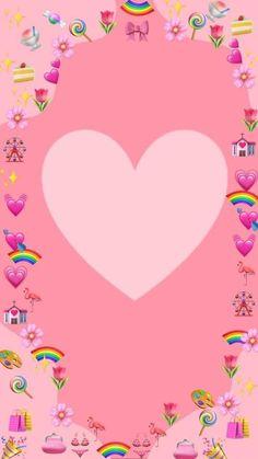 Emoji Wallpaper Iphone, Cute Emoji Wallpaper, Aesthetic Iphone Wallpaper, Creative Instagram Photo Ideas, Photo Instagram, Happy Birthday Husband, Birthday Collage, Birthday Post Instagram, Instagram Frame Template