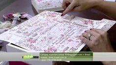 Mulher.com 10/04/2015 - MARISA MAGALHAES BAU COM SCRAPDECOR PT1