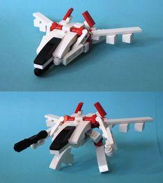 Transforming fighter, retake | 출처: SomethingDistinct