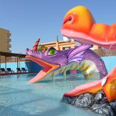 Splash pool at the Hotel Marina Torrenova 4*, Palma Nova, Mallorca.
