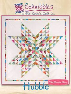 Hubble Schnibbles Charm Pack Pattern Miss Rosie's Quilt Company Schnibbles Pattern