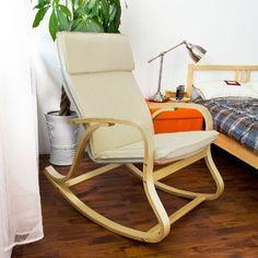 SoBuy Comfortable Relax Rocking Chair, Lounge Chair with Cotton Fabric Cushion, FST15-W,Cream SoBuy http://www.amazon.com/dp/B00NFBULFK/ref=cm_sw_r_pi_dp_8OM8ub180QKTD
