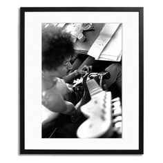 Jimi Hendrix Framed now featured on Fab.