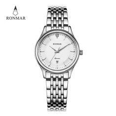 Cheap mujer, Buy Quality mujer reloj Directly from China Suppliers:RONMAR Fashion Luxury Women's Watch Quartz Watch Clock Women Minimalist Watch Horloges Vrouwen Reloj Mujer RM8006L-S