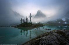 24 Alpine Mist (Coast Mtns, near Vancouver) by Adam Gibbs - 500px