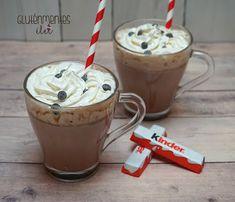DECEMBER 3. - Kinder csokis forrócsoki   Gluténmentes élet December, Pudding, Desserts, Food, Kids, Tailgate Desserts, Deserts, Custard Pudding, Essen
