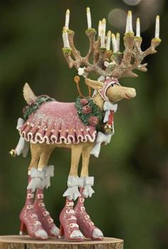 Krinkles by Patience Brewster - Dash Away Donna Ornament
