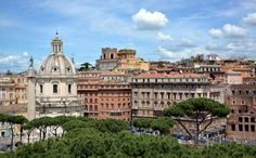 Rome, View from the Victor Emmanuel II monument Share now your best pictures on www.worldgreatcities.com!
