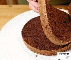Παντεσπάνι σοκολάτας - Συνταγή i-Food.gr by Giorgio Spanakis