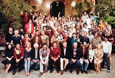 The cast and crew of Star Trek II:The Wrath of Kahn. Check out Merrit and Kirstie.