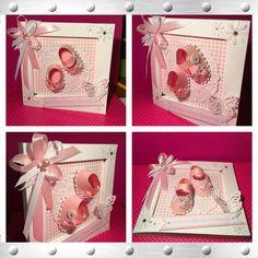 Kartka z okazji chrztu św  Card for baby girl
