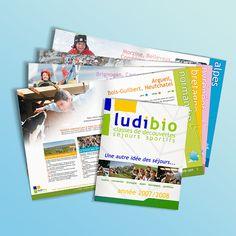 Catalogue des séjours proposés par l'association Ludibio, organisatrice de séjours & de classes de vacances pour les scolaires.