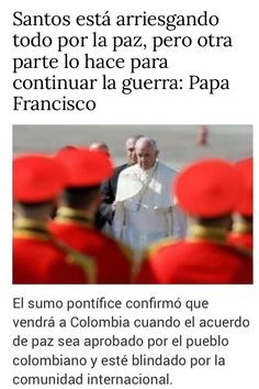 (4) Twitter Papa Francisco, Twitter, War, Peace