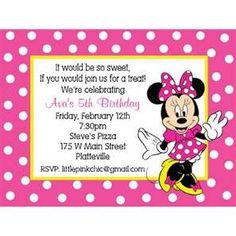 220 Minnie Mouse Invitation Cards Ideas Minnie Mouse Invitations Minnie Minnie Mouse Party
