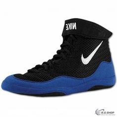 Zápasnícka obuv NIKE INFLICT 3 BLUE BLACK ec02aa9251e