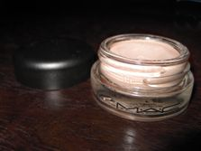 I adore this product- Paint Pot by MAC- it preps your eyes for eye shadow and makes it last longer.