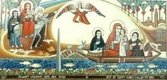 The Holly Family In Egypt  June 1st is the date Egyptian people celebrate the Holly Family entrance to Egypt.