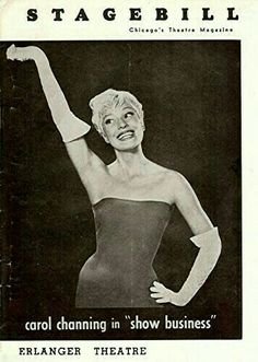 "Theatre Programme from the Premiere Chicago Tryout Production of the Charles Gaynor musical review ""Show Business,"" which performed from February 10 thru April 2, 1960 at the Erlanger Theatre (demolished in 1962, this theatre was located at 127 North Clark Street).  Carol Channing starred in the production."