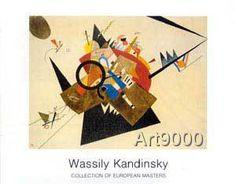Wassily Kandinsky - Schwarzes Dreieck
