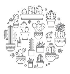 Vector image of Linear design potted cactus elements of a Vector Image, includes. - Cactus bag - Vector image of Linear design potted cactus elements of a Vector Image, includes logo, retro, design - Embroidery Designs, Hand Embroidery, Cactus Embroidery, Indian Embroidery, Embroidery Stitches, Machine Embroidery, Doodle Drawings, Doodle Art, Tattoo Drawings