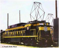 Virginian Electric Locomotive.