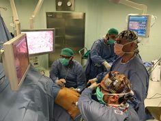 My young laparoscopic surgeons: the dream team.