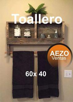 porta toallas toallones vintage decoracion baño palets Ladder Decor, Towel, Interior, Home Decor, Handmade Wood Furniture, Bathroom Furniture, Little Cottages, Room, Create