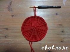 輪の編み目の増やし方・減らし方 ―かぎ針編み―の作り方
