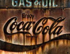 rusty coca cola