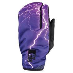 Insane design on the Rome Tailgate Trigger Lightning gloves! Snow Style, Lightning, Rome, Skiing, Gloves, Board, Design, Ski, Rum