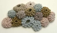 crochet barnacles by Gooseflesh