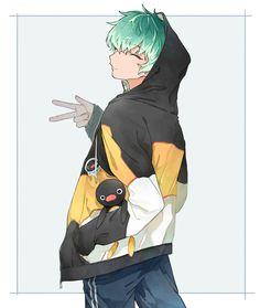 "ayatsuku on Twitter: ""パーカ🐧… "" Cute Anime Pics, Cute Anime Boy, Cute Anime Couples, Manga Anime, Manga Art, Anime Art, Character Inspiration, Character Art, Tragic Comedy"