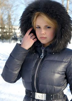 Warm Outfits, Winter Outfits, Winter Suit, Warm Dresses, Puffy Jacket, Down Coat, Rain Wear, Overall, Nylons