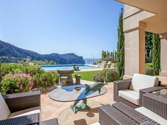 Outdoor living in Port Andratx, Mallorca.