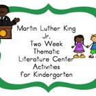 Free Download! Martin Luther King Jr Kindergarten Literacy Centers. Pinned by SOS Inc. Resources @sostherapy http://pinterest.com/sostherapy.