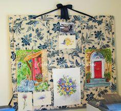 Magnolia's Place: Art Cork Board DIY
