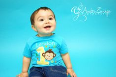 Mod Monkey Birthday Onesie 1st 2nd 3rd 4th by mycamillescreations, $25.00