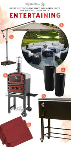 Enter to win a 5-Star Space for Outdoor Entertaining!