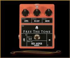 Free The Tone RJ-1V Red Jasper Overdrive at The Guitar Sanctuary McKinney Texas