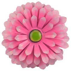 EUR 3,95 - deco bloem hangend metaal ca.34cm