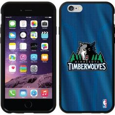 Minnesota Timberwolves Jersey Design on Apple iPhone 6 Switchback Case by Coveroo, Gray