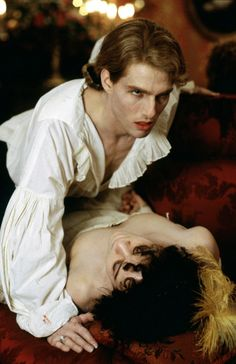 Tom Cruise as Lestat de Lioncourt in Interview With The Vampire (1994).