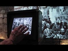 Interactive News: installation at the Tower of David Museum, 2008