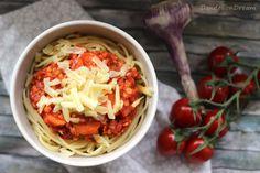 Dandelion Dream: Spaghetti mit vegetarischer Linsen-Bolognese