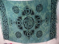 Celtic knot sarong Pagan wiccan ritual decoration wall hanging hippie clothing $5.25 - http://www.wholesalesarong.com/blog/celtic-knot-sarong-pagan-wiccan-ritual-decoration-wall-hanging-hippie-clothing-5-25/