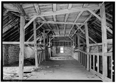Shaker South Family Barn, Harvard, Worcester County, MA. Photo by Jack E. Boucher, August 1963.