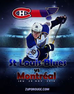 St Louis Blues, Montreal, Hockey, Sports, Coins, Movie Posters, Hs Sports, Coining, Film Poster